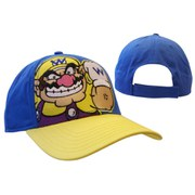 Wario - Adjustable Cap (Blue/Yellow)