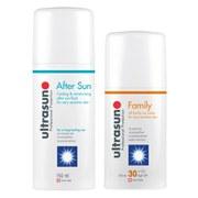 Купить Солнцезащитный крем для всей семьи Ultrasun Family SPF 30 - Super Sensitive (100 мл) и средство после загара Ultrasun Aftersun