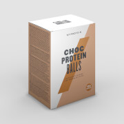 Šokolādes proteīnu bumbiņas