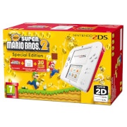 Nintendo 2DS White/Red + New Super Mario Bros 2