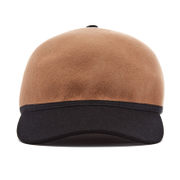 Maison Scotch Women's Colourblock Hat – Tan/Black