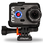 Veho Muvi K-Series Handsfree Camera with Wi-Fi, 1080p, 60fps, 100m Waterproof Case, 8GB Bundle