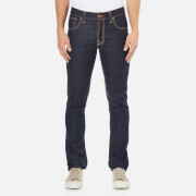 Nudie Jeans Men's Grim Tim Slim Straight Jeans - Dry Navy