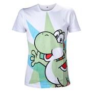 Super Mario Yoshi T-Shirt - White