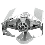 Star Wars Darth Vader's TIE Fighter Metalen Bouwpakket