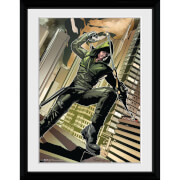 DC Comics Arrow Cover Green - 30x40 Collector Prints