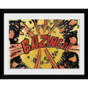 The Big Bang Theory Bazinga Comic - 30x40 Collector Prints