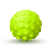 Image of Sphero Robotic Ball Nubby Cover - Yellow