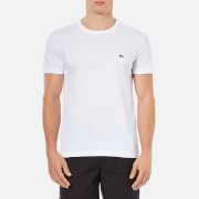 Lacoste Men's Basic Crew T-Shirt - White