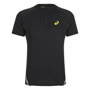 Asics Men's 1/2 Zip Running Top - Black