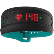 Mio Fuse Heart Rate Wrist Band  Short Strap  Aqua