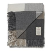Image of Avoca Cashmere Rome Donegal Throw - Grey (142cm x 183cm)