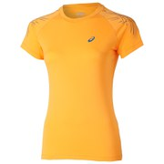 Asics Women's Tiger Stripe Running T-Shirt - Fizzy Peach