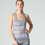 Myprotein Frauen Do More Be More Top - Grau