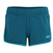 Myprotein Women's Running Shorts with Inner Layer - Teal