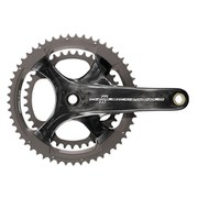 Campagnolo Chorus 11 Speed Ultra Torque Carbon Compact Chainset - Black - 50-34T 172.5mm