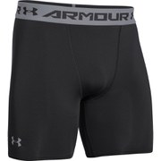 Under Armour Men's Armour HeatGear Compression Training Shorts - Black/Steel