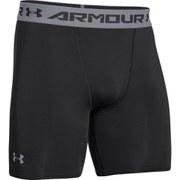 Under Armour Men's Armour HeatGear Compression Training Shorts - Black/Steel