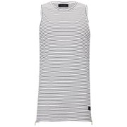 Religion Men's Marley Stripe Vest - White/Black