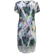 nümph Womens Printed Tunic Dress - Waterfall