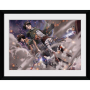 Attack on Titan Smoke Blast - 16x12 Framed Photographic