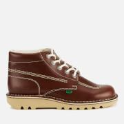 Kickers Men's Kick Hi Leather Boots - Dark Tan - UK 11/EU 46 - Tan