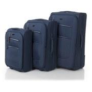 Redland 50FIVE Collection 2 Wheel Trolley Suitcase Set  Navy  756555cm (3 Piece)