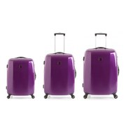 Redland 60TWO Collection Hardsided Trolley Suitcase Set  Purple  756555cm (3 Piece)