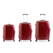Redland 60TWO Collection Hardsided Trolley Suitcase Set  Red  756555cm (3 Piece)