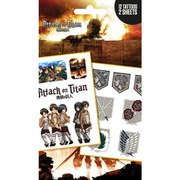 Attack on Titan Logos and Characters - Tattoo Pack