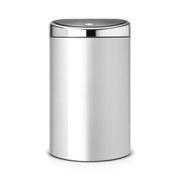 Image of Brabantia 40 Litre Touch Bin - Metallic Grey