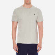 Polo Ralph Lauren Mens Short Sleeved Crew Neck TShirt  Grey Heather  L
