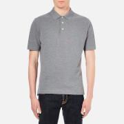 Vivienne Westwood MAN Mens Plain Pique Polo Shirt  Grey Melange  M