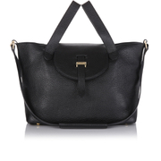 meli melo Thela Medium Tote Bag - Black
