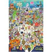 Spongebob Cast - Maxi Poster - 61 x 91.5cm