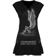 Spiral Women's ENSLAVED ANGEL Stud Waist Mini Dress - Black
