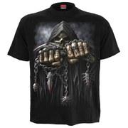 Spiral Men's GAME OVER Plus Size T-Shirt - Black