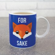 """For Fox Sake"" Becher"
