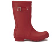 Hunter Womens Original Short Wellies  Military Red  UK 8