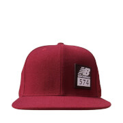 New Balance Men's 574 Cap - Burgundy