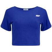 Γυναικείο Κοντό T-Shirt Myprotein, Μπλε