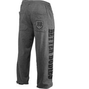 Better Bodies Men's Big Print Sweatpants - Grey Melange