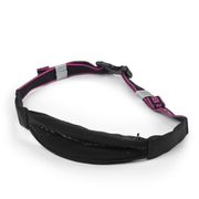 Better Bodies Zip Belt - Black/Pink