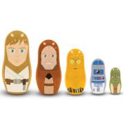 Poupées Russes Star Wars Jedi et Droids