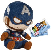 Mopeez Marvel Captain America Plush Figure