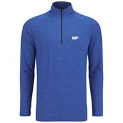Myprotein Men's Performance Long Sleeve 1/4 Zip Top - Blue Marl