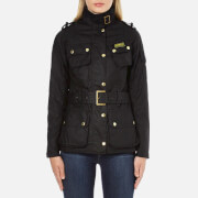 Barbour International Womens Ladies International Jacket  Black  UK 10