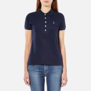 Polo Ralph Lauren Womens Julie Polo Shirt  Cruise Navy  MUK 10
