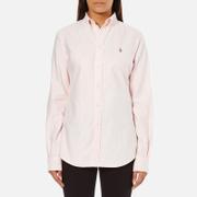 Polo Ralph Lauren Womens Harper Shirt  PinkWhite  LUK 12