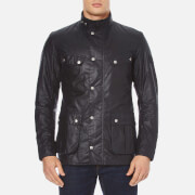 Barbour International Mens Duke Wax Jacket  Navy  S